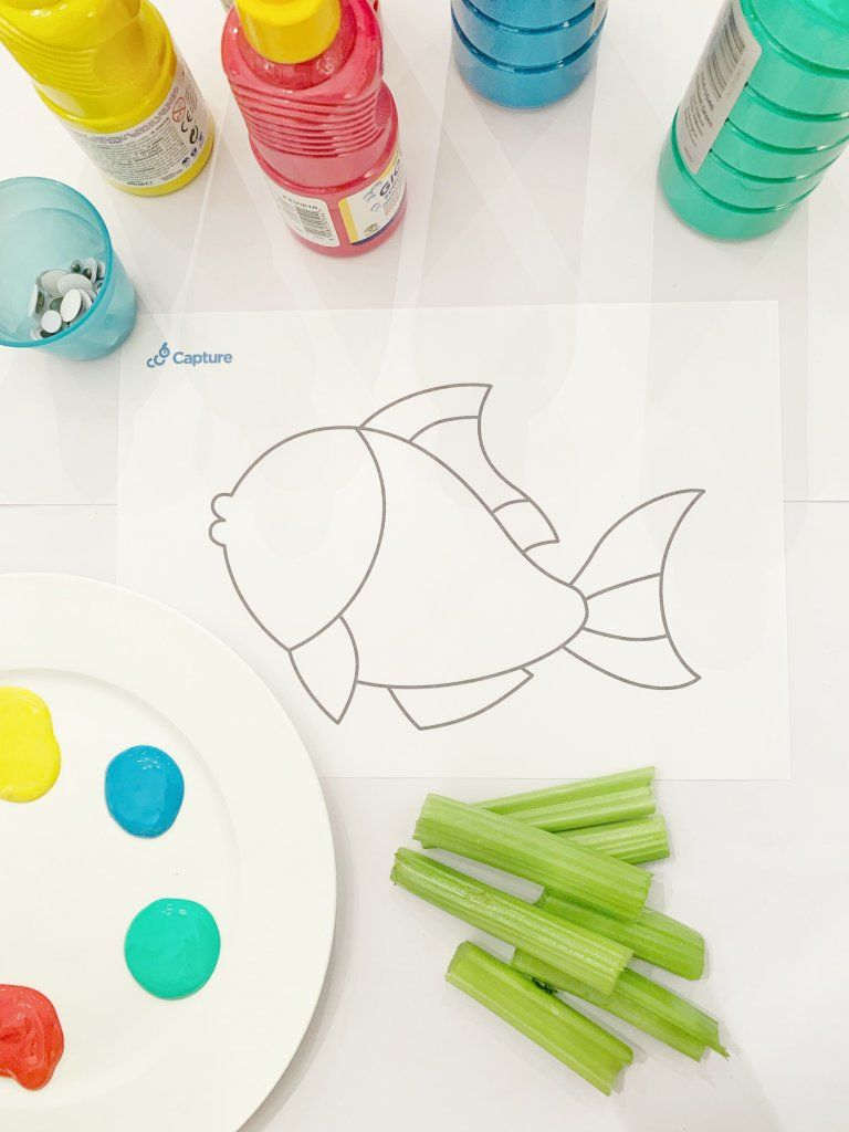 Eyfs Resource - Celery Fish 1