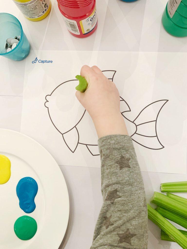 Eyfs Resrouce - Celery Fish 2