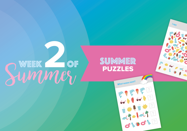 6 Weeks of Summer: week 2 12