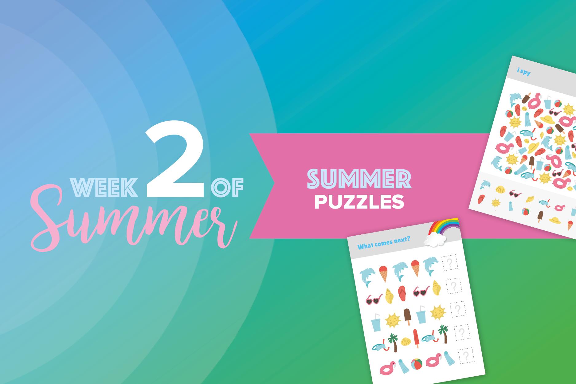 6 Weeks of Summer: week 2 1