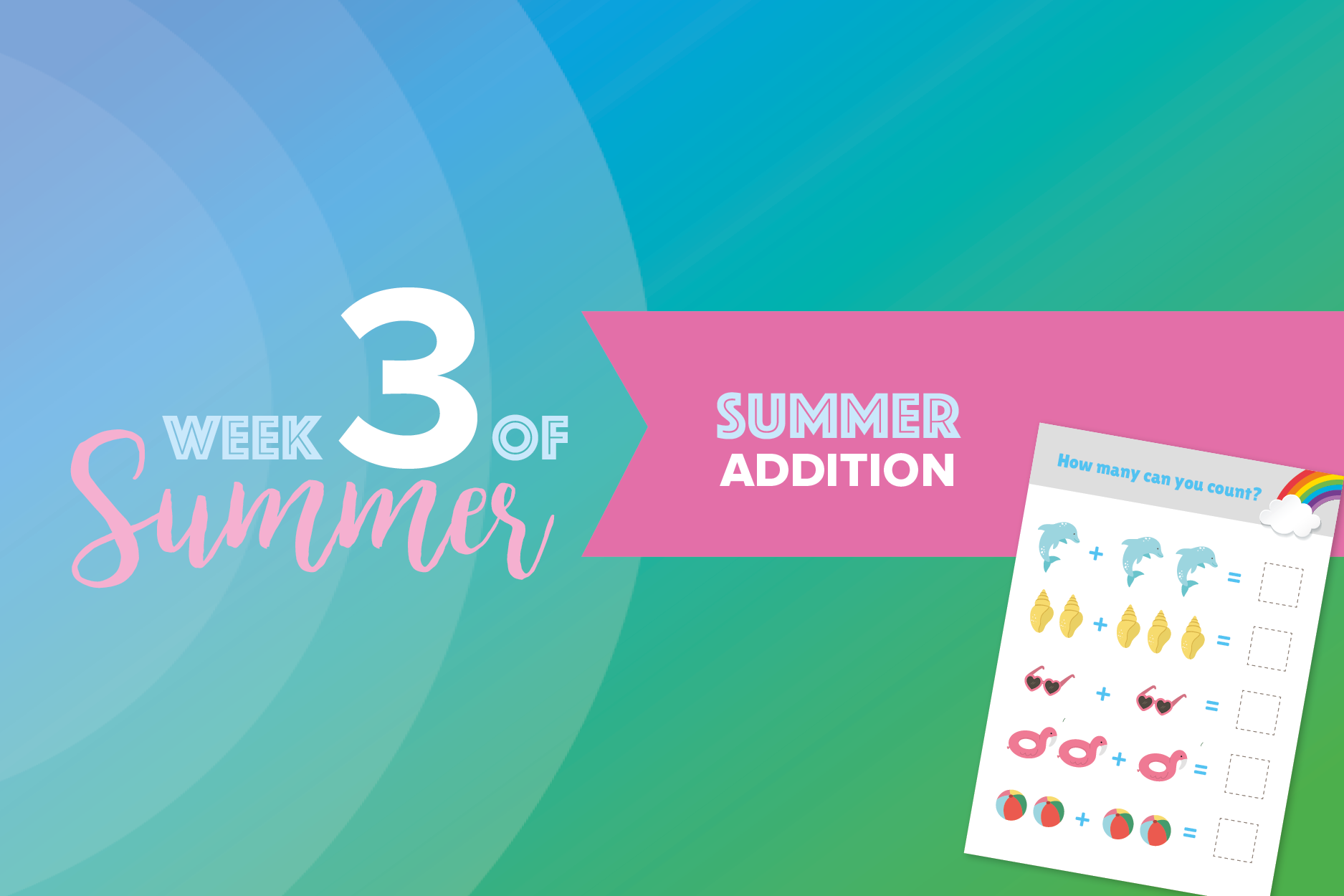 6 Weeks of Summer: week 3 1