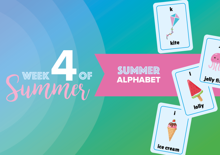 6 Weeks of Summer: week 4 10
