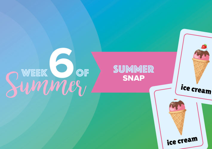6 Weeks of Summer: week 6 8