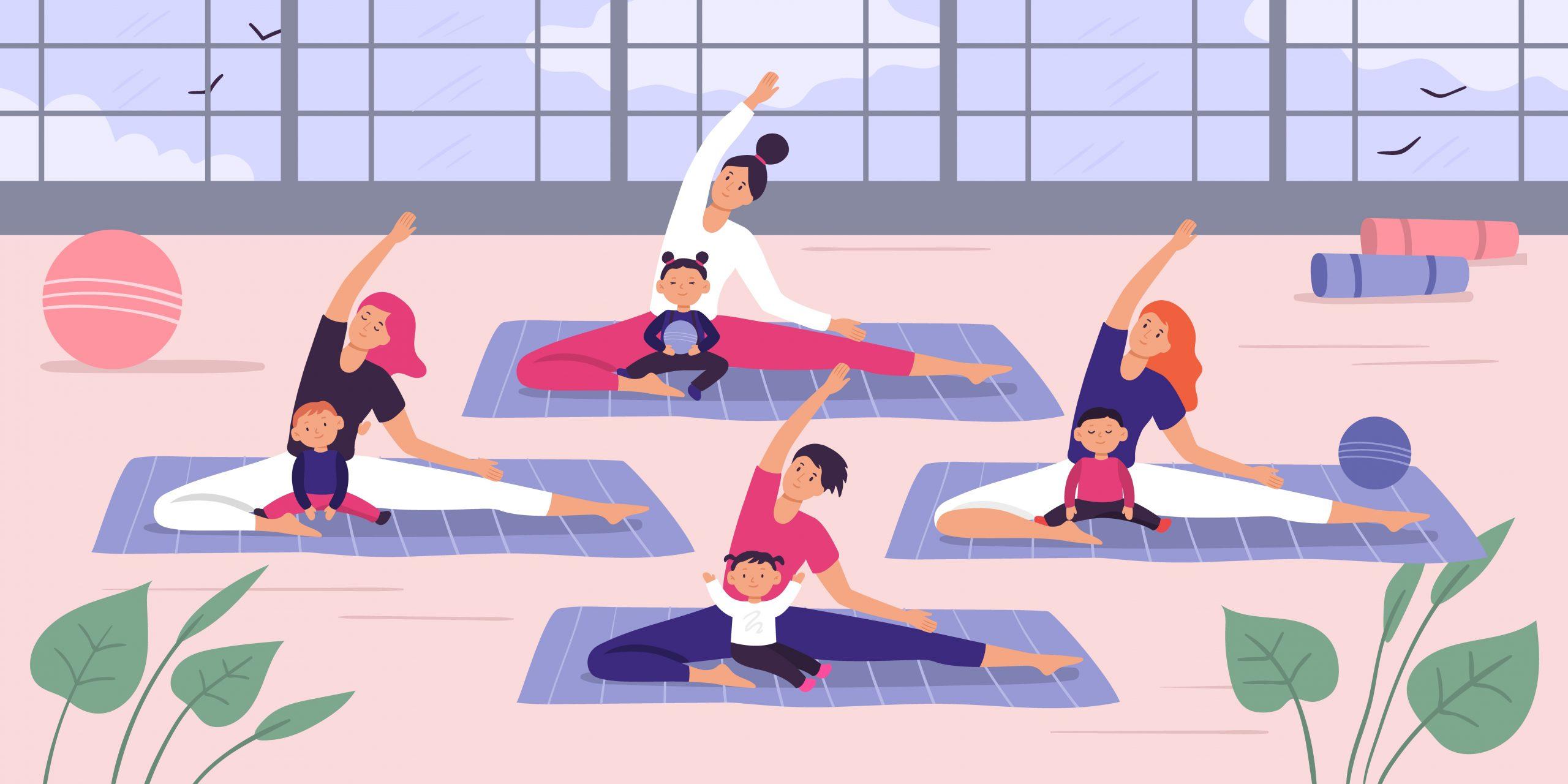Introduction to Baby Yoga with Caroline Blair 1