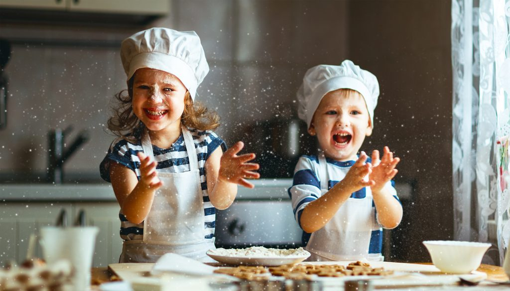 teamwork cooking